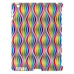 Rainbow Waves Apple Ipad 3/4 Hardshell Case (compatible With Smart Cover)