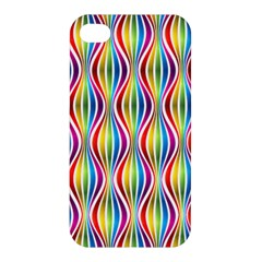 Rainbow Waves Apple Iphone 4/4s Premium Hardshell Case
