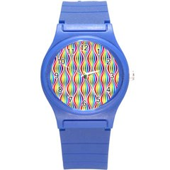 Rainbow Waves Plastic Sport Watch (Small)