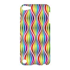 Rainbow Waves Apple iPod Touch 5 Hardshell Case
