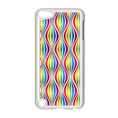 Rainbow Waves Apple Ipod Touch 5 Case (white)