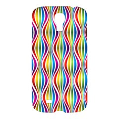 Rainbow Waves Samsung Galaxy S4 I9500/i9505 Hardshell Case