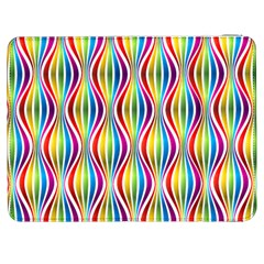 Rainbow Waves Samsung Galaxy Tab 7  P1000 Flip Case