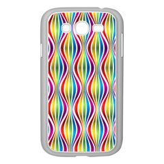Rainbow Waves Samsung Galaxy Grand Duos I9082 Case (white)