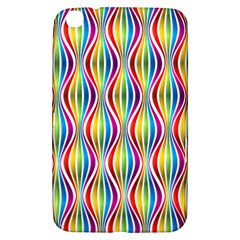 Rainbow Waves Samsung Galaxy Tab 3 (8 ) T3100 Hardshell Case