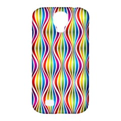 Rainbow Waves Samsung Galaxy S4 Classic Hardshell Case (pc+silicone)