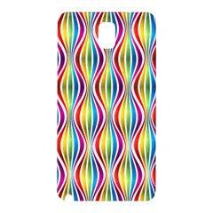 Rainbow Waves Samsung Galaxy Note 3 N9005 Hardshell Back Case