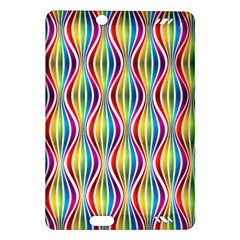Rainbow Waves Kindle Fire Hd 7  (2nd Gen) Hardshell Case