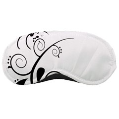 Floral Butterfly Design Sleeping Mask