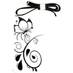 Floral Butterfly Design Shoulder Sling Bag