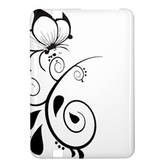 Floral Butterfly Design Kindle Fire Hd 8 9  Hardshell Case