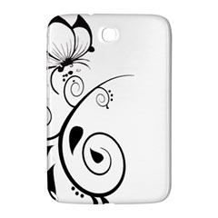 Floral Butterfly Design Samsung Galaxy Note 8.0 N5100 Hardshell Case