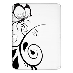 Floral Butterfly Design Samsung Galaxy Tab 3 (10.1 ) P5200 Hardshell Case