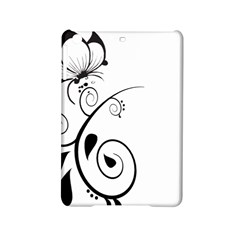 Floral Butterfly Design Apple iPad Mini 2 Hardshell Case
