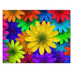 Gerbera Daisies Jigsaw Puzzle (Rectangle)