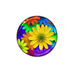 Gerbera Daisies Golf Ball Marker 4 Pack (for Hat Clip)