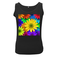 Gerbera Daisies Women s Tank Top (black)
