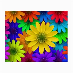 Gerbera Daisies Glasses Cloth (Small, Two Sided)