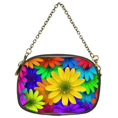 Gerbera Daisies Chain Purse (One Side)