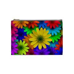 Gerbera Daisies Cosmetic Bag (medium)