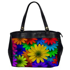 Gerbera Daisies Oversize Office Handbag (One Side)