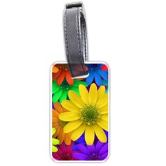 Gerbera Daisies Luggage Tag (Two Sides)