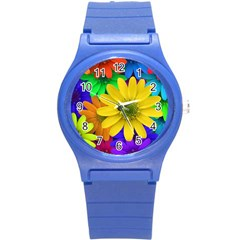 Gerbera Daisies Plastic Sport Watch (small)