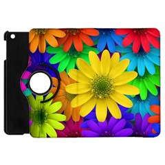 Gerbera Daisies Apple Ipad Mini Flip 360 Case