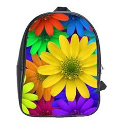 Gerbera Daisies School Bag (XL)