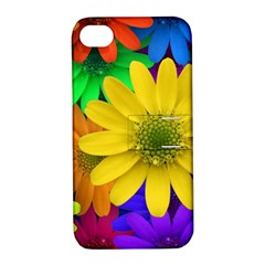 Gerbera Daisies Apple Iphone 4/4s Hardshell Case With Stand