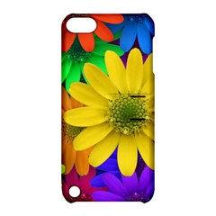 Gerbera Daisies Apple Ipod Touch 5 Hardshell Case With Stand