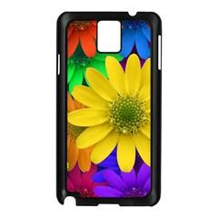 Gerbera Daisies Samsung Galaxy Note 3 N9005 Case (Black)