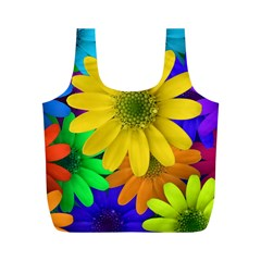 Gerbera Daisies Reusable Bag (m)