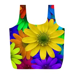 Gerbera Daisies Reusable Bag (L)