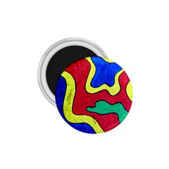 Abstract 1.75  Button Magnet