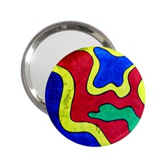 Abstract Handbag Mirror (2.25 )