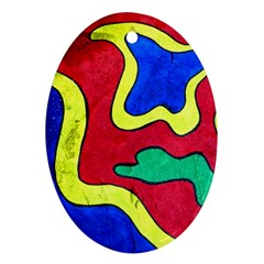 Abstract Oval Ornament (Two Sides)