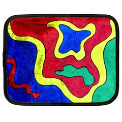 Abstract Netbook Sleeve (large)