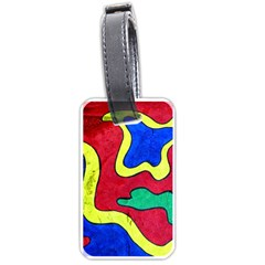 Abstract Luggage Tag (one Side)