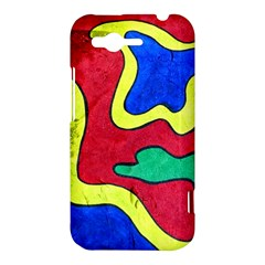 Abstract HTC Rhyme Hardshell Case