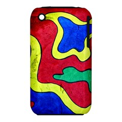 Abstract Apple iPhone 3G/3GS Hardshell Case (PC+Silicone)
