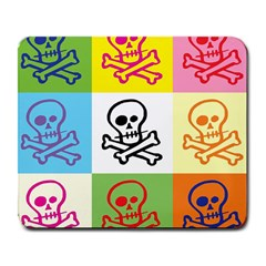 Skull Large Mouse Pad (rectangle)