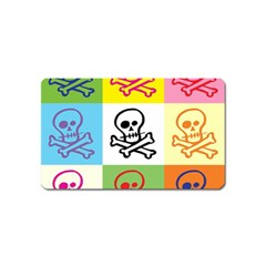 Skull Magnet (name Card)