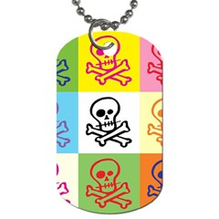 Skull Dog Tag (two Sided)