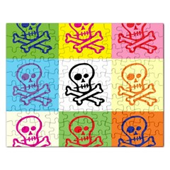 Skull Jigsaw Puzzle (Rectangle)