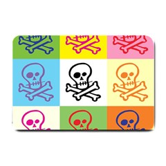Skull Small Door Mat