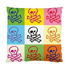 Skull Cushion Case (Two Sided)