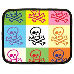 Skull Netbook Sleeve (xl)