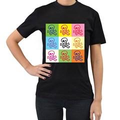 Skull Women s T-shirt (Black)