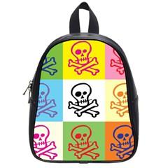 Skull School Bag (Small)